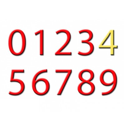 Mini tapiz de números