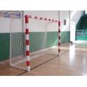 Red Balonmano / Fútbol Sala 3mm Poliester blanco   ( juego )