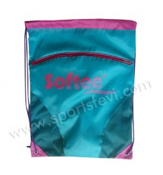 GYMSACK SOFTEE CON RED Y BOLSILLO