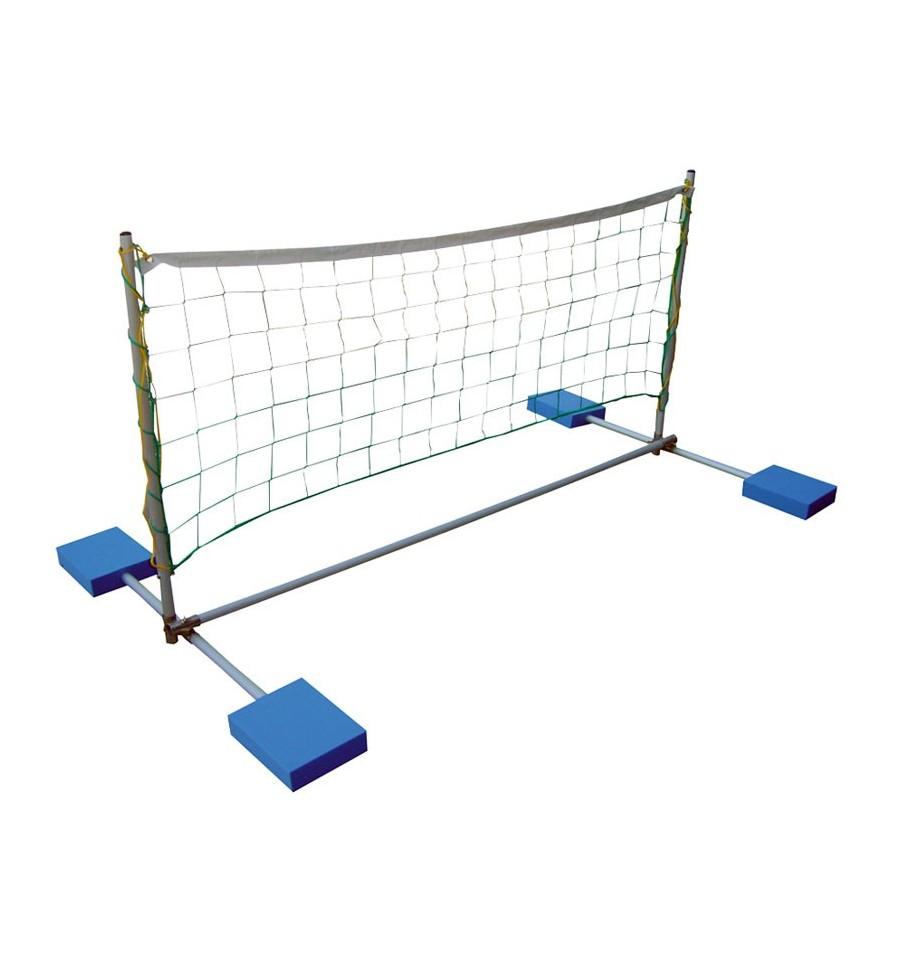 Voleibol flotante aluminio - Red voley piscina ...