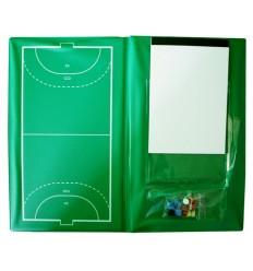 Carpeta táctica fútbol sala-balonmano profesional